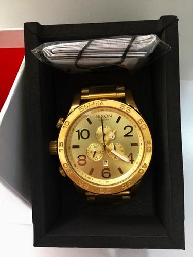 f18cbd0bbcc Relógio Nixon 51-30 Original + Caixa + 3 Anos De Garantia - R  647 ...