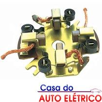 Porta Escova Motor Partida Bosch Fiat Uno 1984 Em Diante