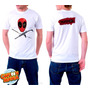 Camiseta Branca Deadpool Quadrinhos Hq Engraçada 364
