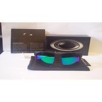 Óculos Polarizado (( Holbrook)) Preto Fosco Lente Verde