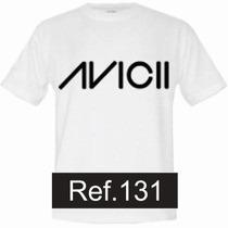 Camiseta Avicii David Guetta Martin Dj Camisas Bandas Rock