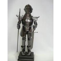 Armadura Medieval Cavalheiro Epada Lança Grande Soldado Toy