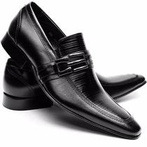 Sapato Social Couro Stilo Italiano Sofisticado Dhl Calçados
