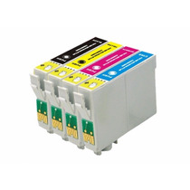 Kit Cartucho Compativel Epson To73120/73220/73320/73420 C/04