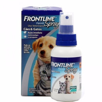 Antipulgas Frontline Spray Cães E Gatos Frontlaine 100ml