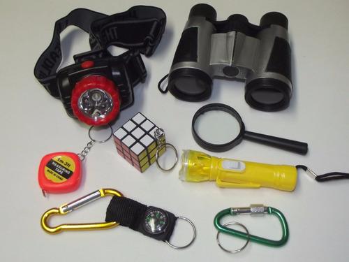 Super Kit Detetives Do Prédio Azul - 8 Ítens + Crachá Dpa