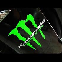 Adesivo Kawasaki Team Racing Monster