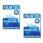 1.250un - Folheto / Panfleto - 10x15cm - 150g - Frente Verso