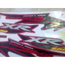 Adesivo Jogo Tornado Xr250 2003 Vermelha Completo