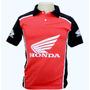 Camiseta Gola Polo Esportiva Moto Honda