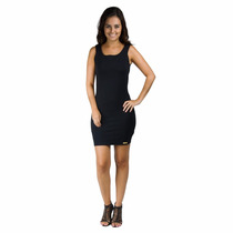 Vestido Feminino Preto Tubinho Social Secretaria Cod-a7