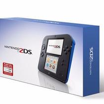 Nintendo 2ds Azul Novo Lacrado