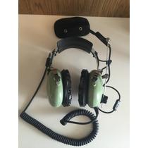 Headset Para Aeronaves David Clark H10-76 Helicóptero Avião