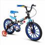 Bicicleta Infantil Menino Aro 16 Tech Boys Nathor