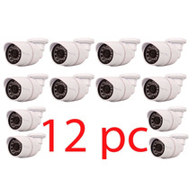 Kit 12 Camera Vigilância 1/3 Ccd Sony Ir 3,6mm 1ano Garantia