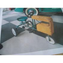 Trator De Pedal - Antigo Anos 60 - Bom Estado - Original