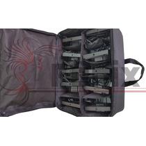 Bag Softcase 10 Par Led Slim Tamanho 18 Leds 1w Rgb