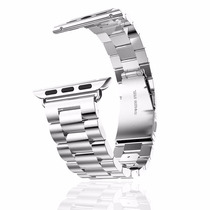 Pulseira Metal Apple Watch 42mm Inox Solid Stainless Silver