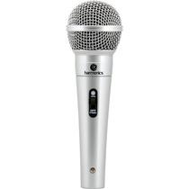 Kit 2 Microfones Profissionais Harmonics + Cabos