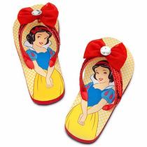 Chinelo Branca De Neve Original Disney