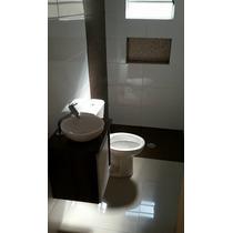 Gabinete Toucador Armário P/ Banheiro C/cuba Sem Espelheira