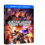 Blu-ray Liga Da Justiça Vs Jovens Titãs Steelbook 2 Discos