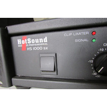 Hotsound Hs1000sx 1000rms 4 Ohm Original.