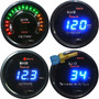 Contagiros Rpm Hallmeter Temperatura Água Voltímetro Digital