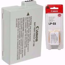 Bateria Canon Lp-e8 Original Lp E8 T3i T5i T6i Kiss X4 X5
