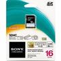 Cartão De Memória Sony Sdhc 16gb Classe 4 15mb/s Lacrado!