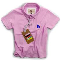 Camisa Polo/body Infantil Qualidade Importada Original Cor13