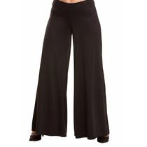 Calça Pantalona Plus Size Helanca Pronta Entrega!!