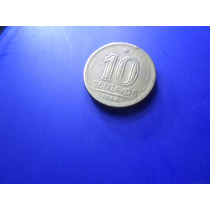 Moeda 10 Centavos Getúlio Vargas 1944 Em Bronze Alumínio
