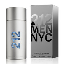 212 Nyc 100ml - Perfume Masculino Carolina Herrera 212 Nyc