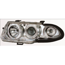 Farol Projector Angel Eyes Gm Astra 95 96 97 Cromado