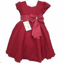 Vestido De Festa Infantil (casamento, Aniversário,formatura)