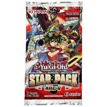 Baralho Cartas Konami Yu-gi-oh! Booster Pacote Estelar Arc V