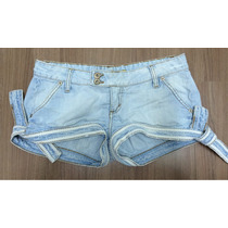 Lindo Micro Shorts Jeans Triton - Tam 40