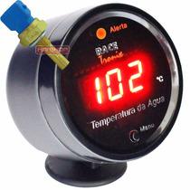 Medidor Temperatura Água Digital Led Sensor Painel Carro 12v
