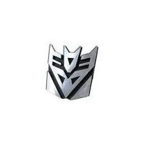 Adesivo Transformers 3d Para Veículos Decepticons