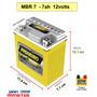 Bateria De Moto 12v-7ah Honda 250/400 Tornado/twister/falcon