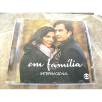 Cd - Em Familia Internacional Novela Globo 2014