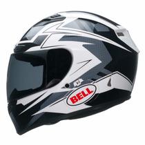 Novo Capacete Bell Qualifier Dlx Clutch Preto / Branco
