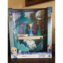 Frozen Pequeno Reino Castelo De Gelo Da Elsa Disney