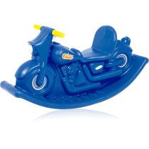 Moto Balanço Azul