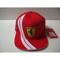 Boné Ferrari Alonso Aba Reta 100% Oficial Puma Santander