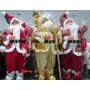Boneco Papai Noel Com Roupa De Tecido 90cm Luxuoso,belíssimo