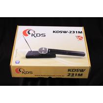 Microfone S/fio Kadosh Kdsw 231m Vhf Hendrix