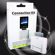 Adaptador Leitor De Ipad 1/2/3 Usb Sd Camera Connection Kit
