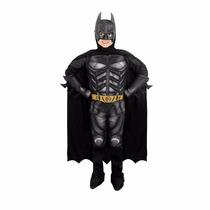 Fantasia Luxo Batman Cavaleiro Das Trevas Ressurge C/músculo